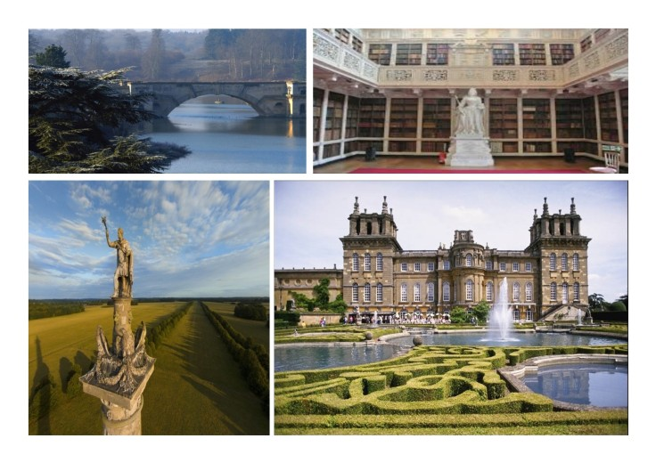 The Grand Bride, The Library, The Victory Column, The Pleasure Gardens